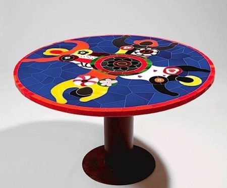 Niki de Saint Phalle-Table aux quatre nanas-1994