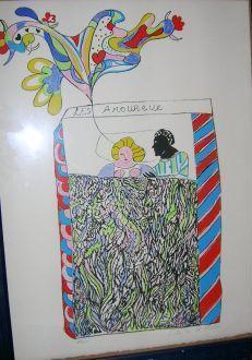 Niki de Saint Phalle-Les amoureux-1970