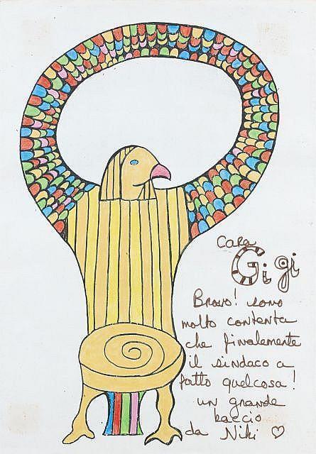 Niki de Saint Phalle-Horus-