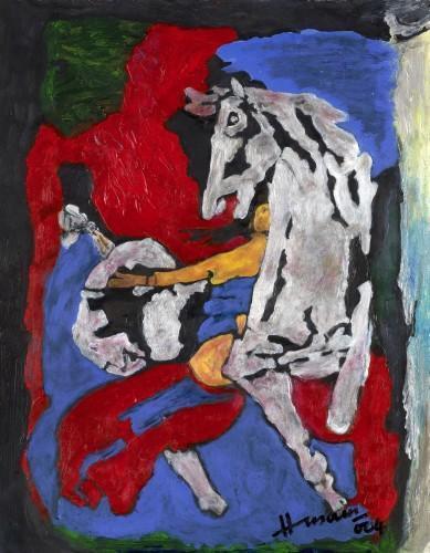 Maqbool Fida Husain-Sans Titre-2004