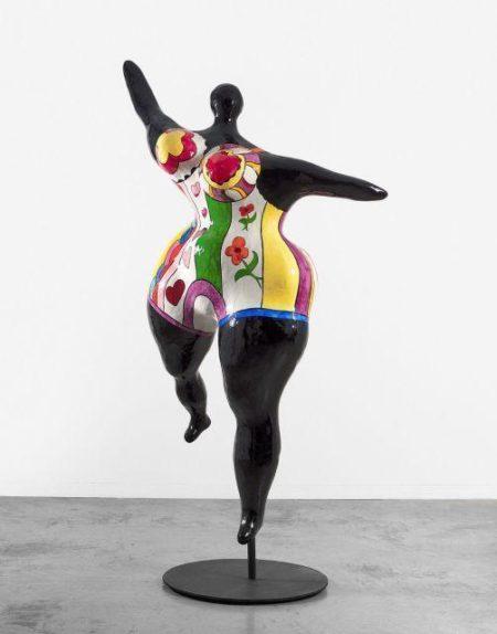 Niki de Saint Phalle-Nana Danseuse Noire (Grande Danseuse Negresse)-1968