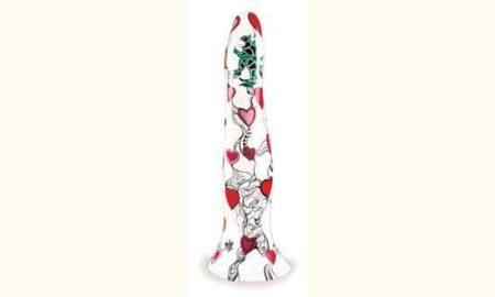 Niki de Saint Phalle-Obelisque aux coeurs rouges-1988