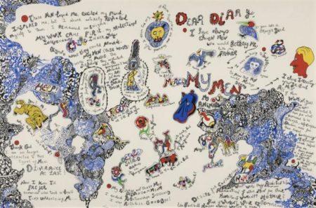 Niki de Saint Phalle-Californian Diary - Dear Diary-1995
