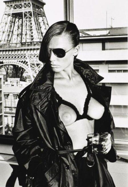 Helmut Newton-Gunilla Bergstrom (1976)-1976