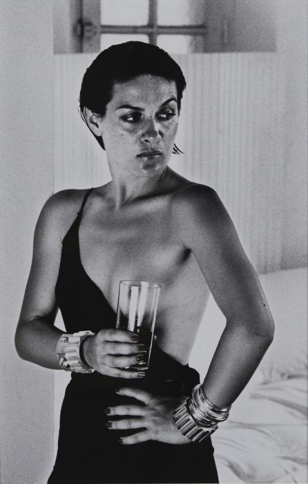 Helmut Newton-Paloma Picasso Portant Une Robe De Karl Lagerfeld, Saint-tropez, (1973)-1973