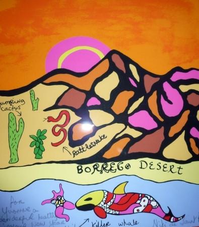 Niki de Saint Phalle-Borrego desert-1995