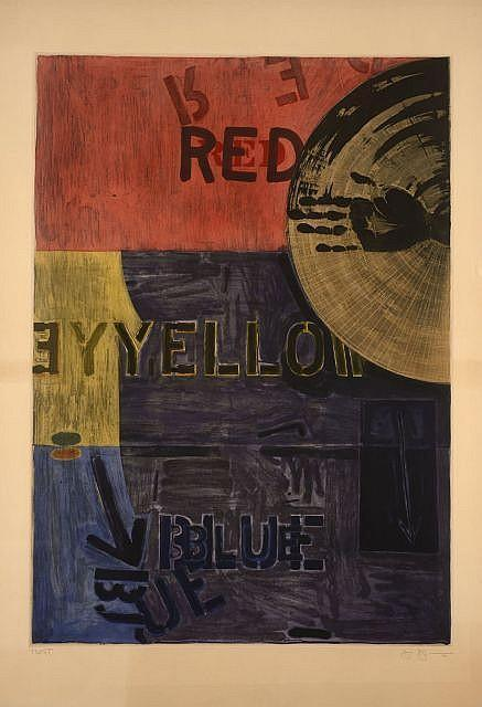 Jasper Johns-Periscope (ULAE 218)-1981