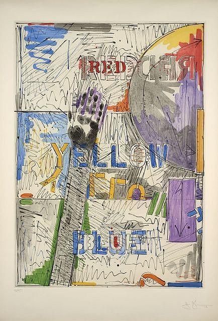 Jasper Johns-Land's End-1978