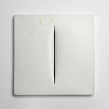 Lucio Fontana-Concetto Spatiale-1968