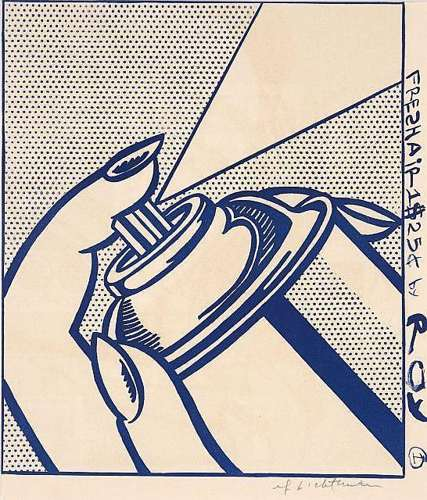 Roy Lichtenstein-Spray Can-1963