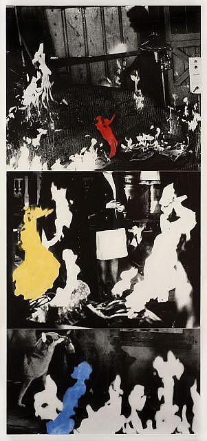 John Baldessari-Helmsman (with Various Fires)-1990