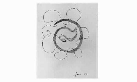 Lucio Fontana-Sans titre-1952