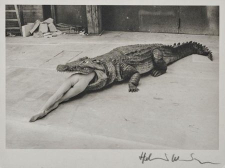Helmut Newton-A Scene From Pina Bausch's Ballet (the Legend Of Viginity), Wuppertal (1983)-1983