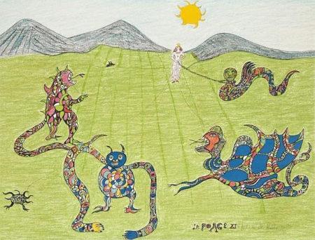 Niki de Saint Phalle-La forge-1981
