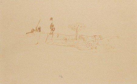 Paul Klee-Auf Tauchende Krieger-1924