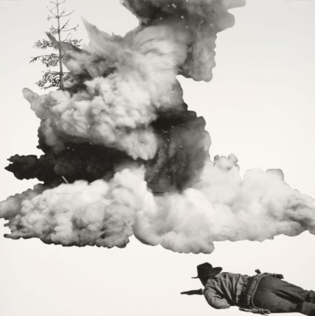 John Baldessari-Smoke, Tree, Shadow and Person-2011