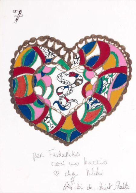 Niki de Saint Phalle-The Heart-