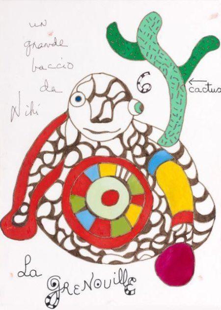 Niki de Saint Phalle-La grenouille-