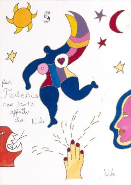 Niki de Saint Phalle-Nana and the Sun-
