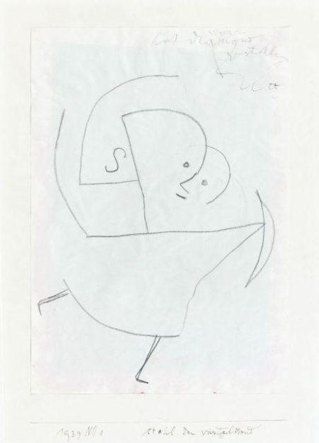 Paul Klee-Stahl Den Viertel Mond-1939