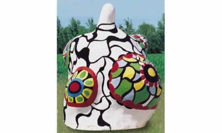 Niki de Saint Phalle-Nana, cabine de bain-1971
