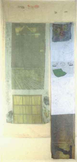 Robert Rauschenberg-Robert Rauschenberg - Sand (From Hoarfrost Series)-1974
