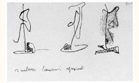 Lucio Fontana-Sculture spaziali-1949