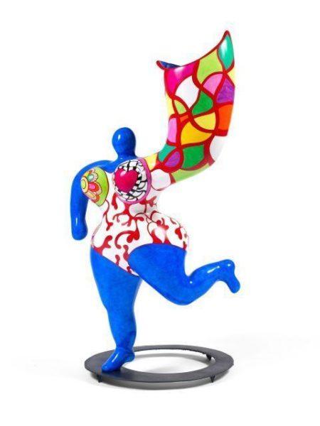 Niki de Saint Phalle-Angel Vase (Bleu), ( Nana vase)-1993