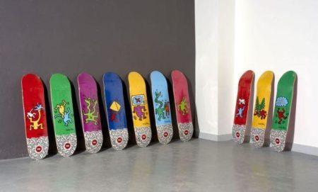 Keith Haring-Keith Haring - Skateboard Decks-