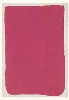 Yves Klein-Monochrome rose-1951