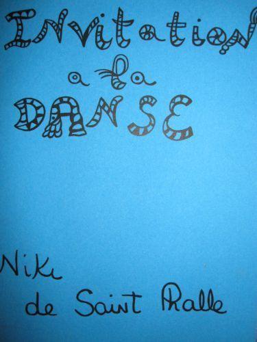 Niki de Saint Phalle-Invitation a la danse-1933