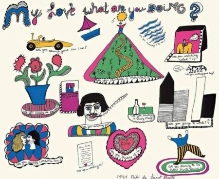 Niki de Saint Phalle-My love what are you doing-1968