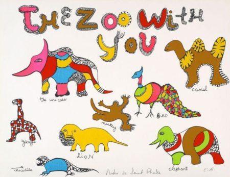 Niki de Saint Phalle-The Zoo with You-1968