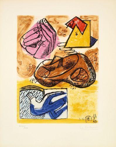 Le Corbusier-Unite, 1963 - planche 16-1963
