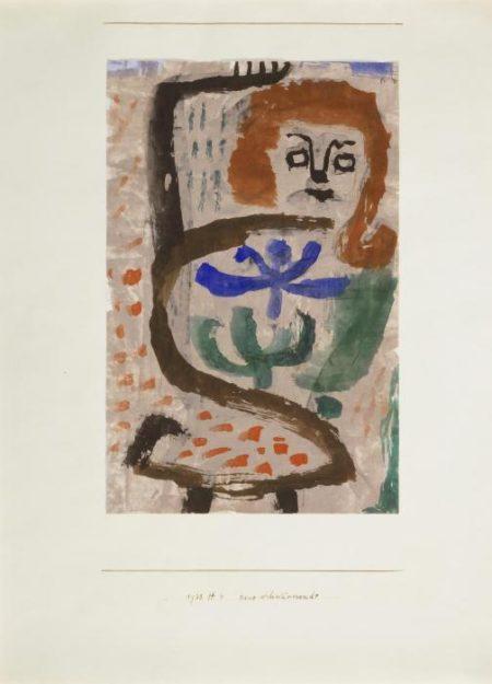 Paul Klee-Eine Schwarmende-1938
