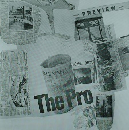 Robert Rauschenberg - The Pro (From Current Series)-1970