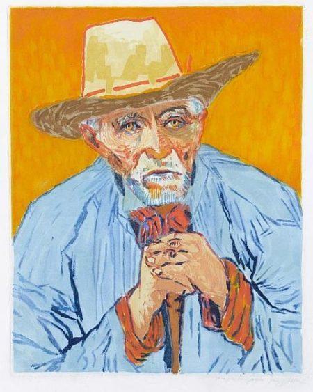 Vincent van Gogh-Le Paysan-1927