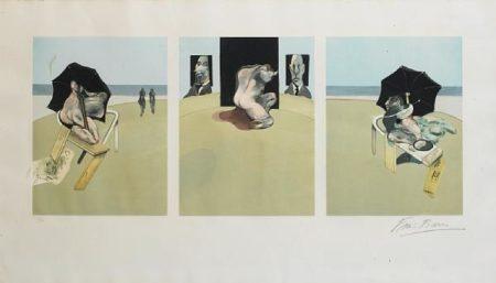 Francis Bacon-Metropoliton Triptych-1981