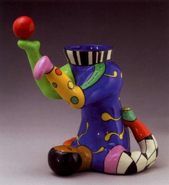 Niki de Saint Phalle-Juggler Vase-2000