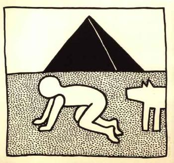 Keith Haring-Keith Haring - From the Blueprint Drawings-1990