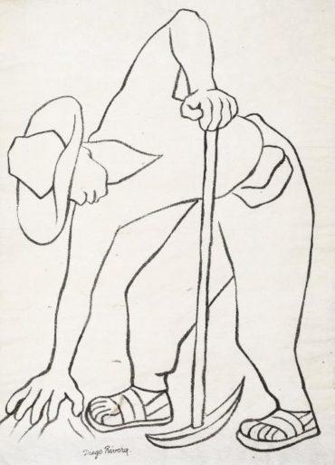 Diego Rivera-Trabajador