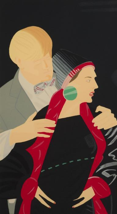 Alex Katz-Red Grooms and Lizzy Ross-1995