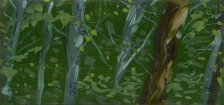 Alex Katz-Maine Woods-1996