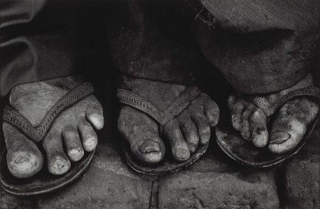 Sebastiao Salgado-Brasil (Feet) / Workers Feet, Brazil-1983