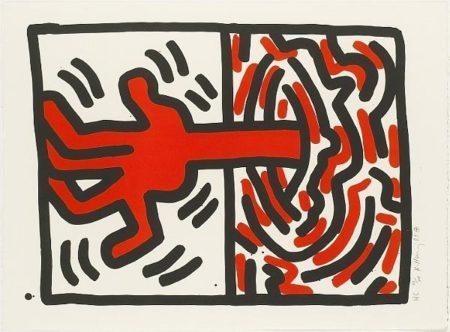 Keith Haring - Ludo #5-1985
