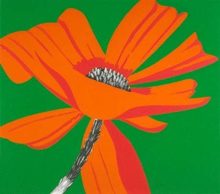 Alex Katz-Poppies-1968