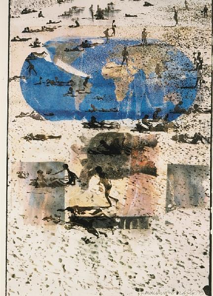 Robert Rauschenberg - Choices and Responsibilities-1993