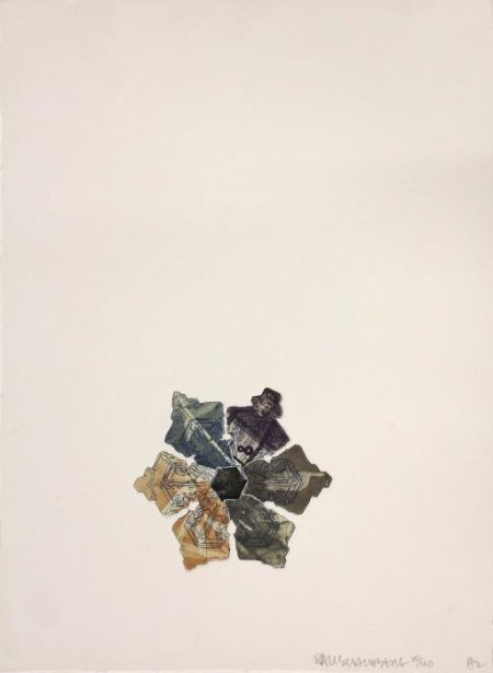Robert Rauschenberg-Robert Rauschenberg - 400' and Rising, from L.A. Flakes-1982