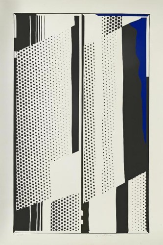 Roy Lichtenstein-Twin Mirrors-1970