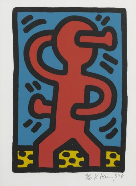 Keith Haring-Keith Haring - Untitled (L. pgs. 74-75)-1987